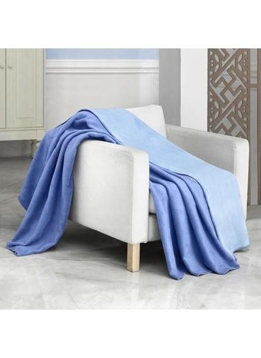 Schafer Vera Çift Kişilik Battaniye-200x220 Mavi